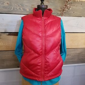2 for $15 Old Navy Bright Red Zip Front Vest